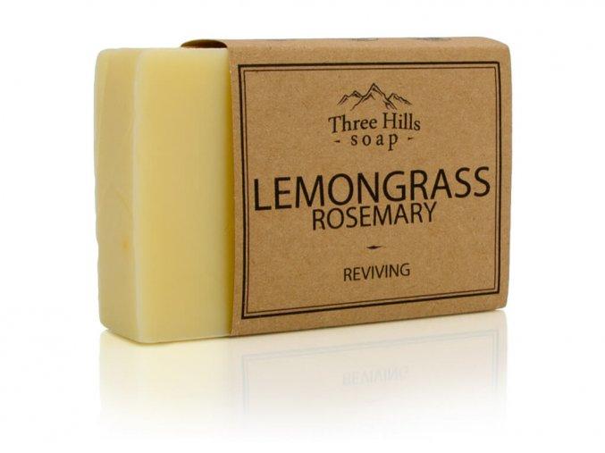 Three Hills Soap přírodní mýdlo citronova trava a rozmarýn