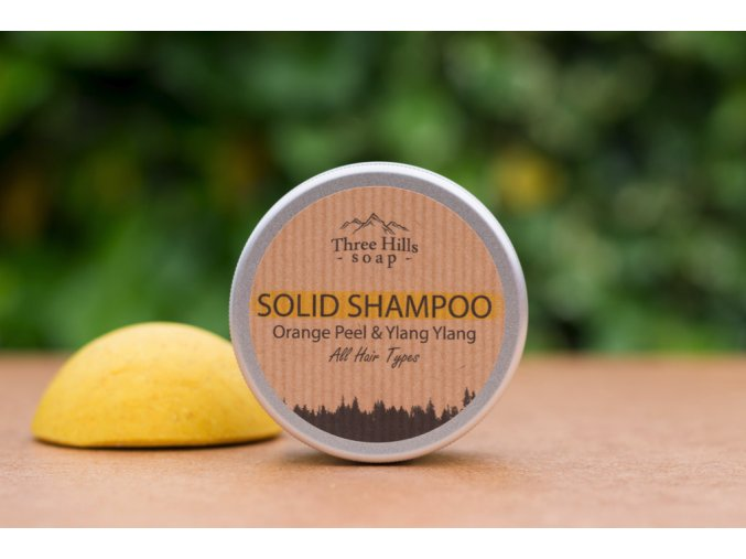 three hills soap orange peel ylang ylang
