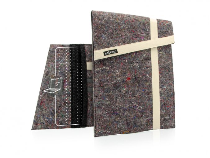 Sobieco obal na notebook 15XL obojí bílá