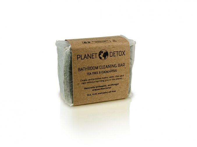 Planet detox bathroom cleaning bar tea tree eucalyptus