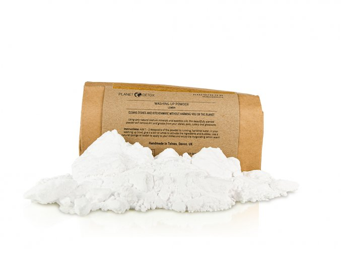 Planet detox washing up powder lemond