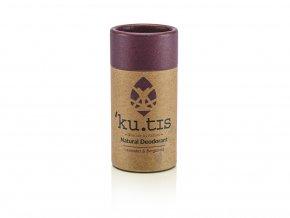 ´KU.TIS Přírodní deodorant Levandule Bergamot s včelím voskem 55g
