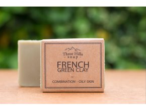 Three hills soap french green clay