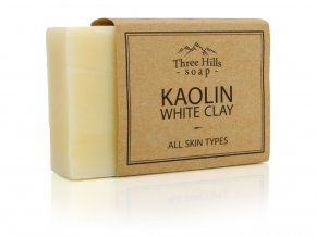 Three Hills Soap přírodní mýdlo s kaolinitem a bílým jílem