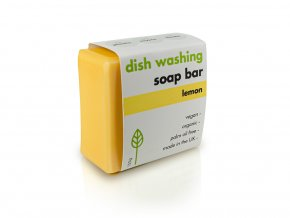 Dish washing soap bar lemond
