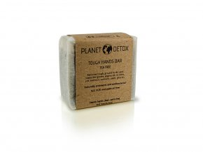 Planet detox tough hands bar tea tree
