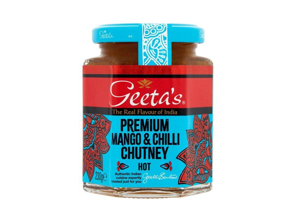 Geeta's Mango&Chilli Chutney 230g