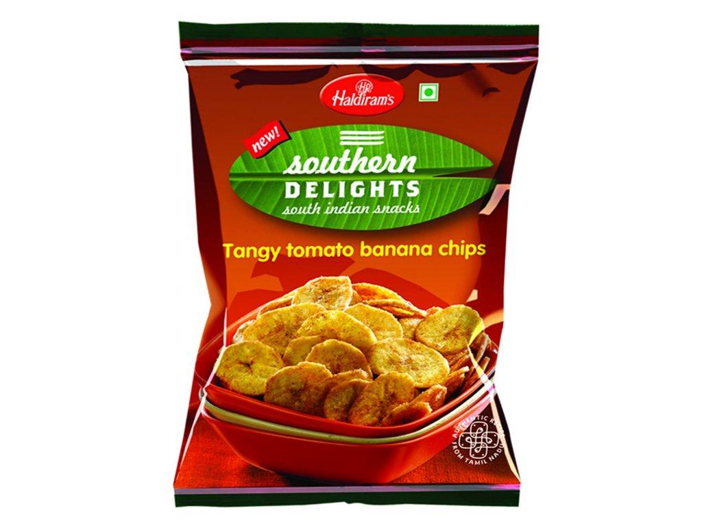 Haldirams Tomatové Banánové Chipsy 200g