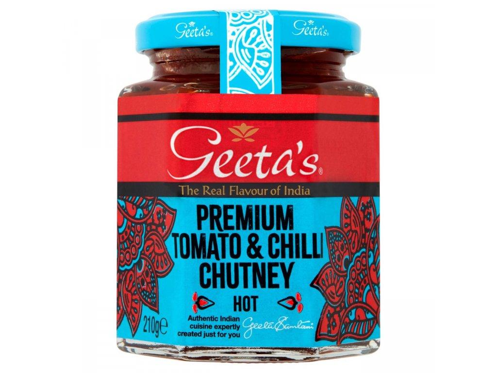 Geeta's Tomato&Chilli Chutney 210g