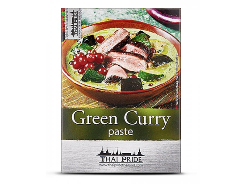 Thai Pride kari pasta zelená 50g