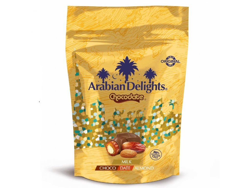Arabian Delights Mláčná čokoláda & Mandle