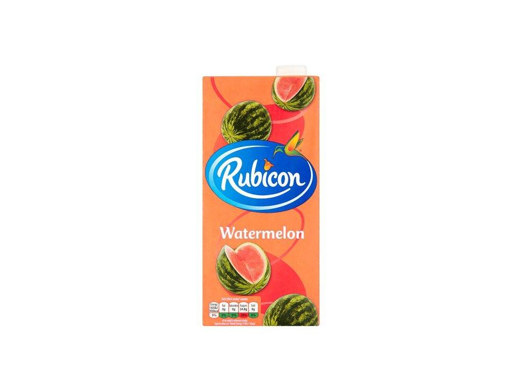 Rubicon Vodní Meloun Džus 1l