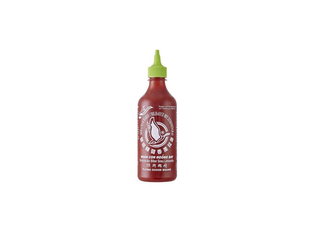 Flying Goose Sriracha Citrónová Tráva 455ml