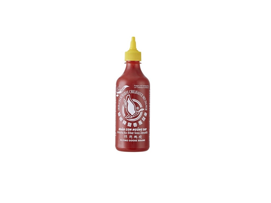 Flying Goose Sriracha se zázvorem 455ml