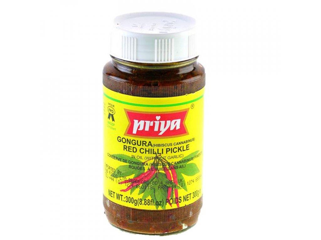 Priya Nakládaný Zázvor 300g