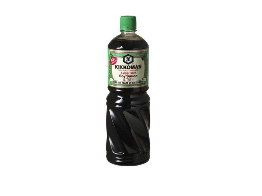 Kikkoman sojová omáčka less salt 1L