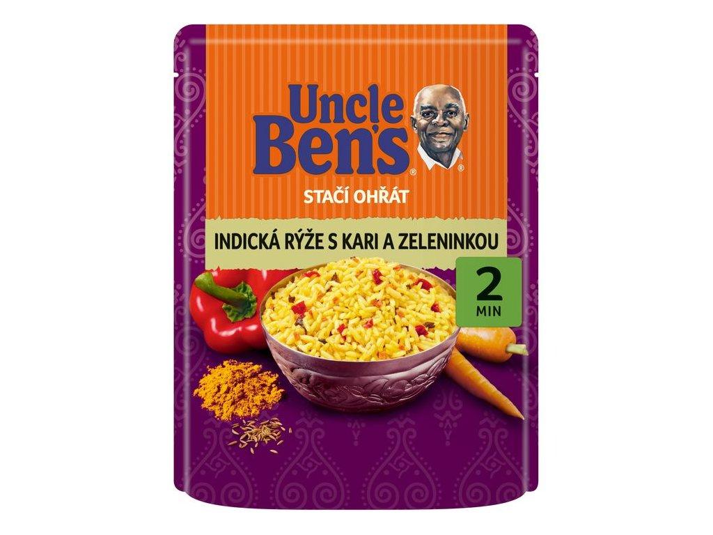 Uncle Ben's indická rýže se zeleninou 250g
