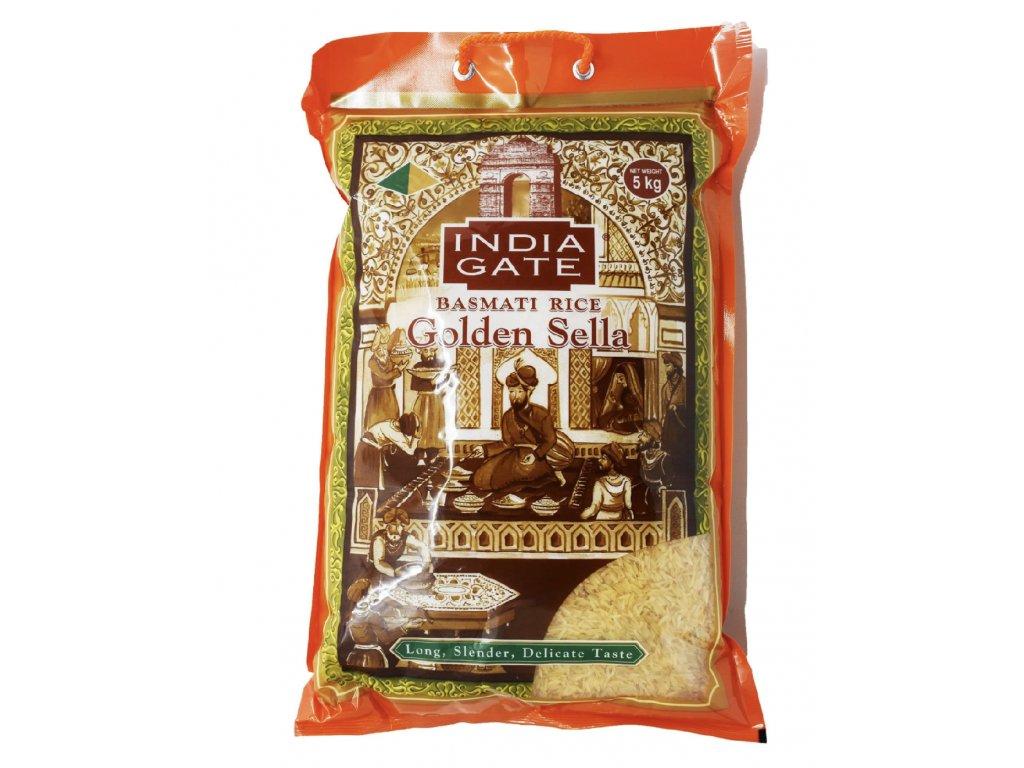 India Gate Zlatá Sella Basmati Rýže 5Kg