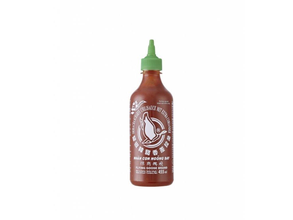 Flying Goose Sriracha s koriandrem 455Ml