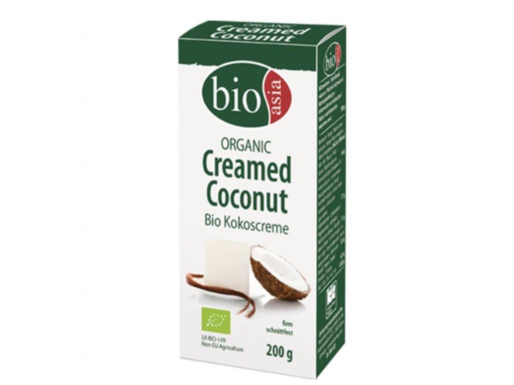 BioAsia Kokosový krém Bio 200g