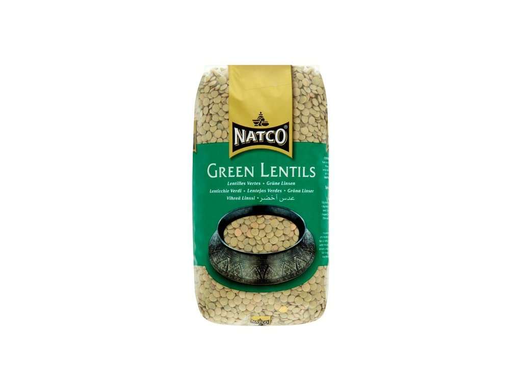 Natco Zelená Čočka 1Kg