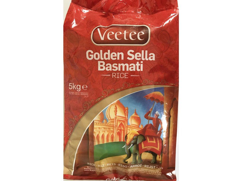 Veetee Zlatá Sella Basmati Rýže 5Kg