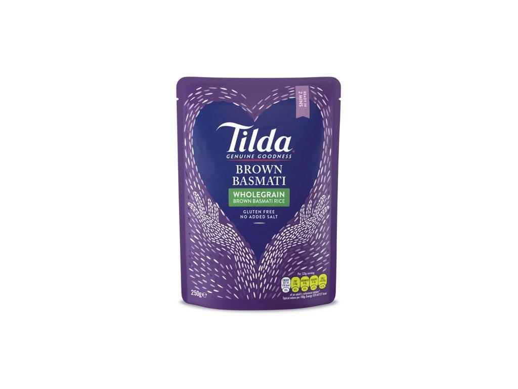 Tilda dušená hnědá basmati rýže 250g