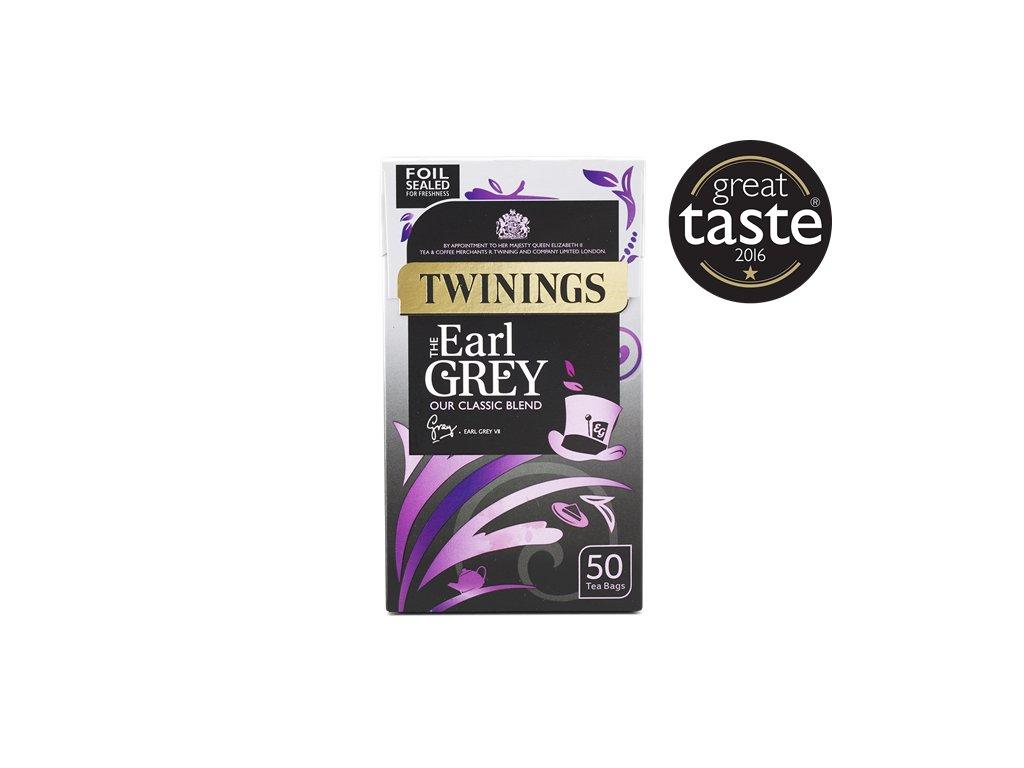Twinings čaj Earl Grey 50ks