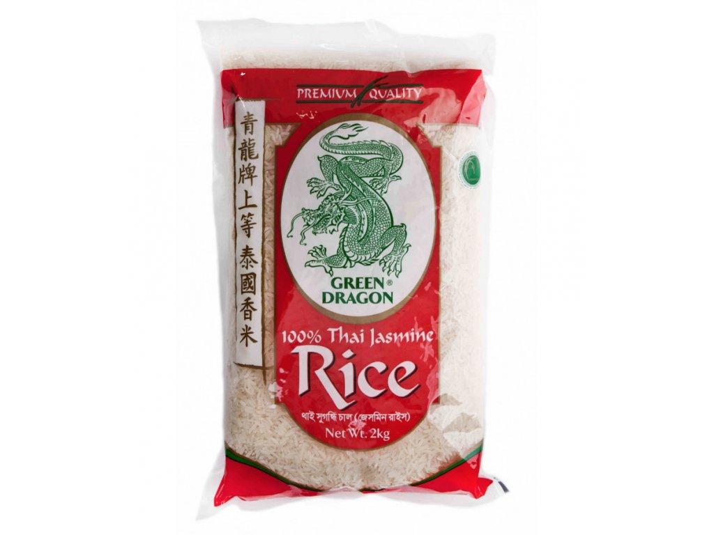 Thajská Jasmínová Rýže 2Kg