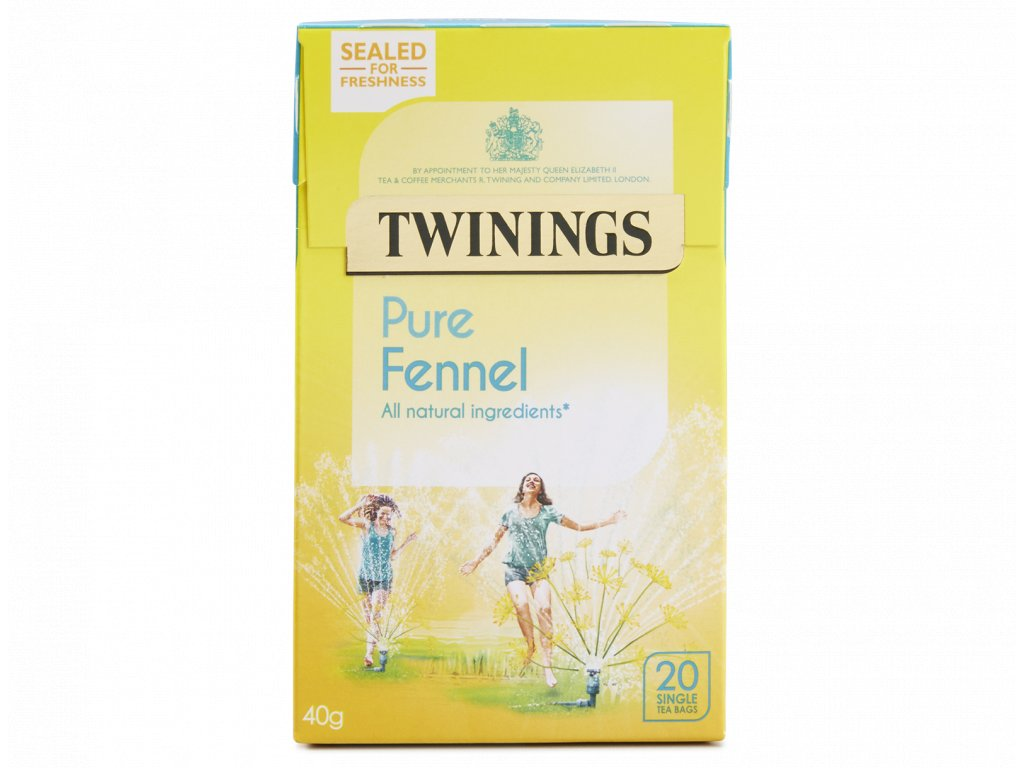 Twinings Pure Fennel 20ks