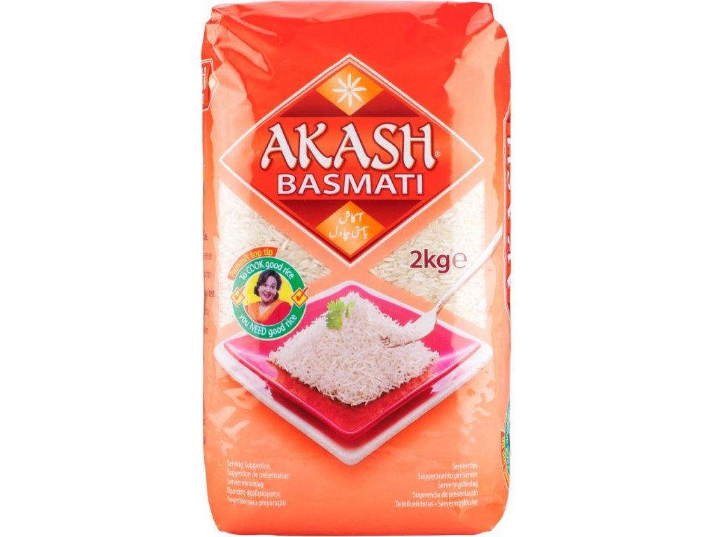 Akash Basmati Rýžě 2Kg