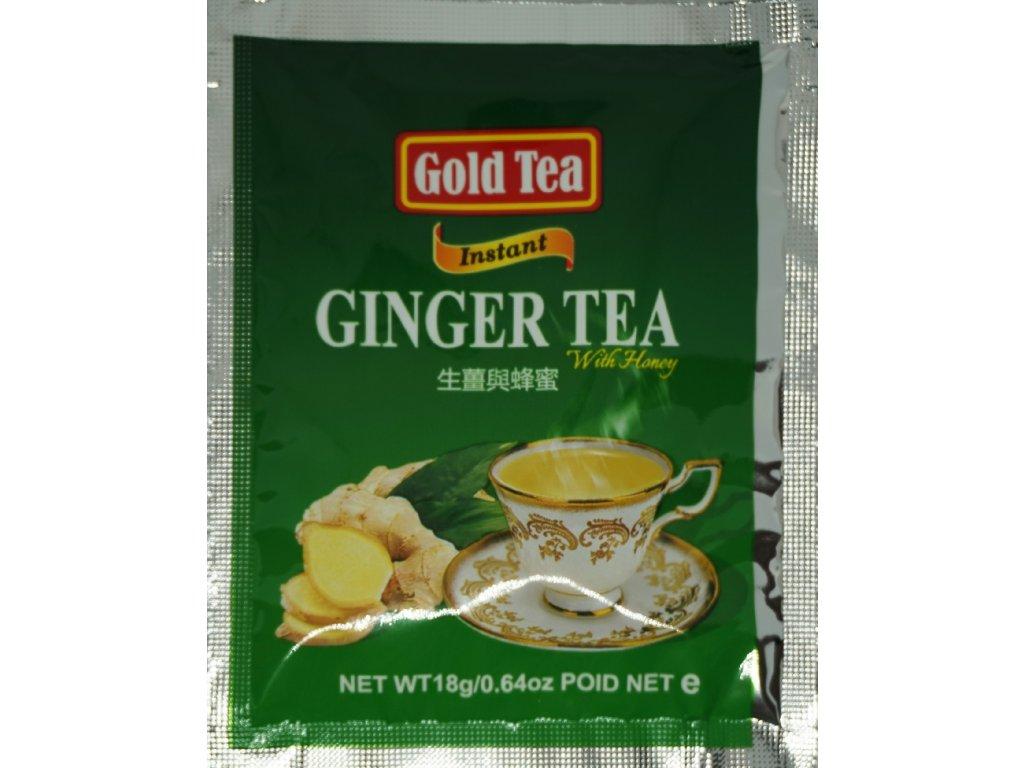 Gold Tea-Zázvorový čaj s medem
