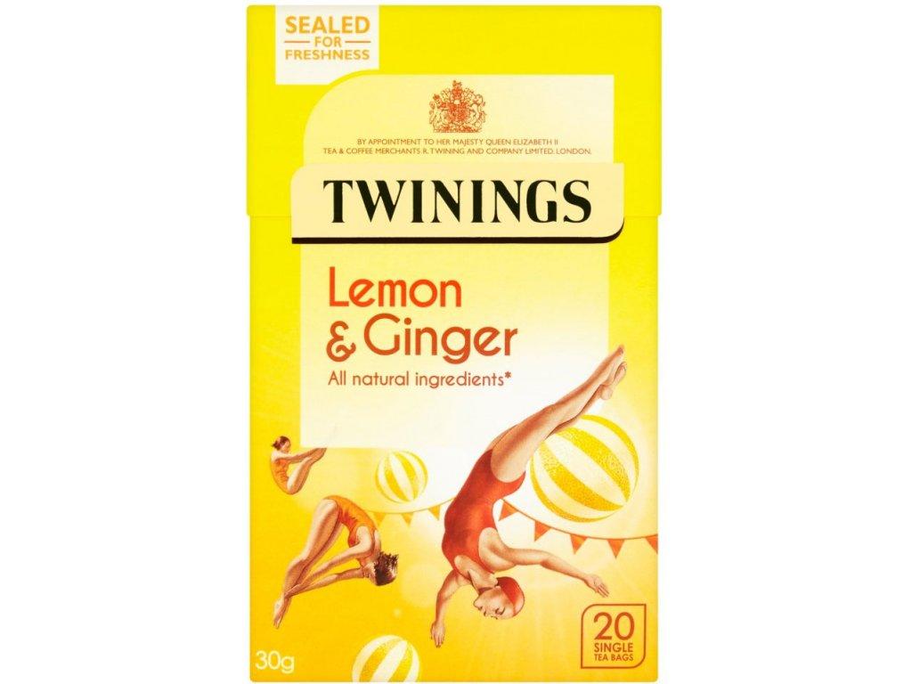 Twinings čaj - citrón&zázvor