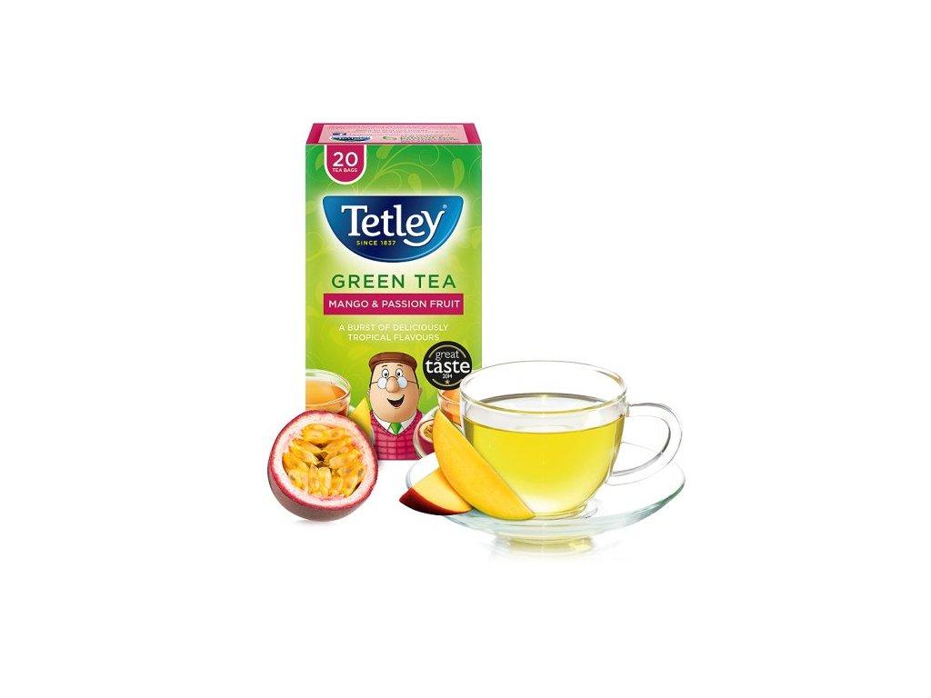 Tetley Zelený Čaj-Mango&Passion Ovoce