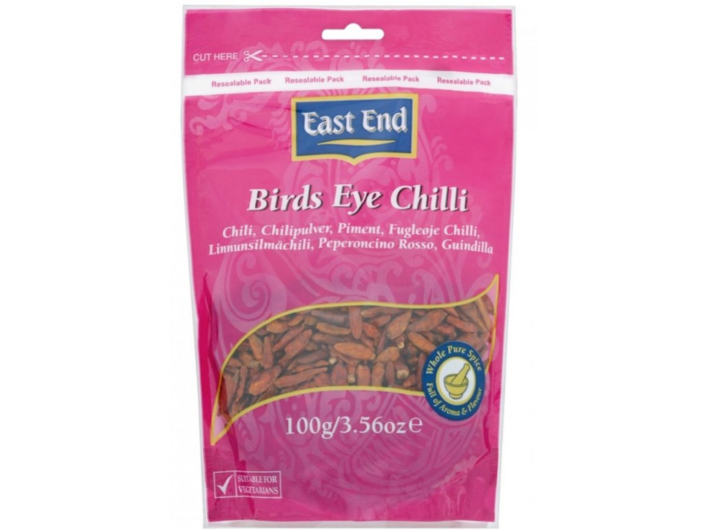 East End Bird Eye Chilli 50g