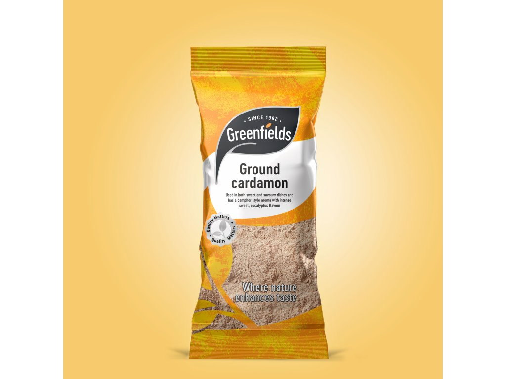 Greenfields Drcený Kardamon 50g