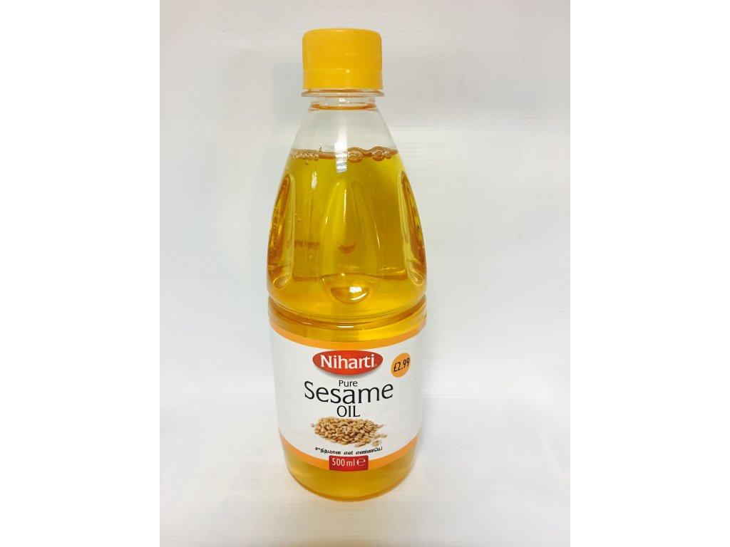 Niharti Sezamový Olej 500Ml