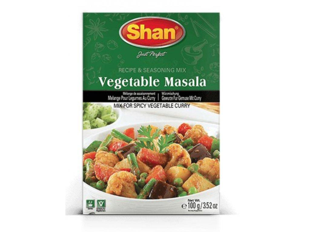 Shan Směs koření Zeleninové Kari 100g