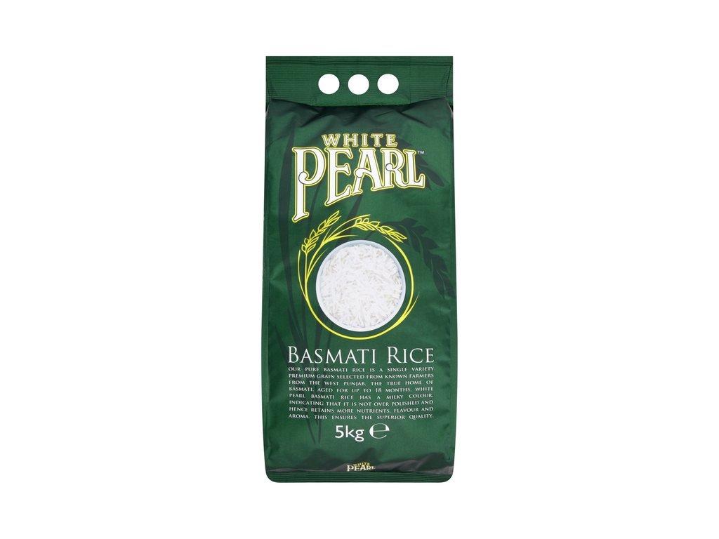 White Pearl basmati Rýže 5Kg