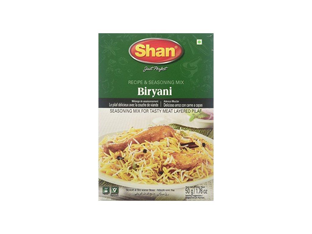Shan Směs na přípravu Biryani 50g