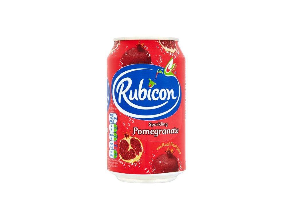 Rubicon Granátové Jablko Perlivý Džus 330Ml