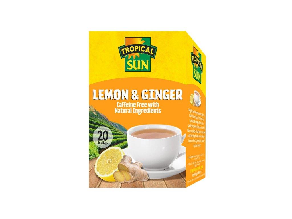 Tropical Sun Citronový  čaj se zázvorem