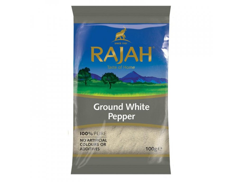 Rajah bílý pepř mletý 100g