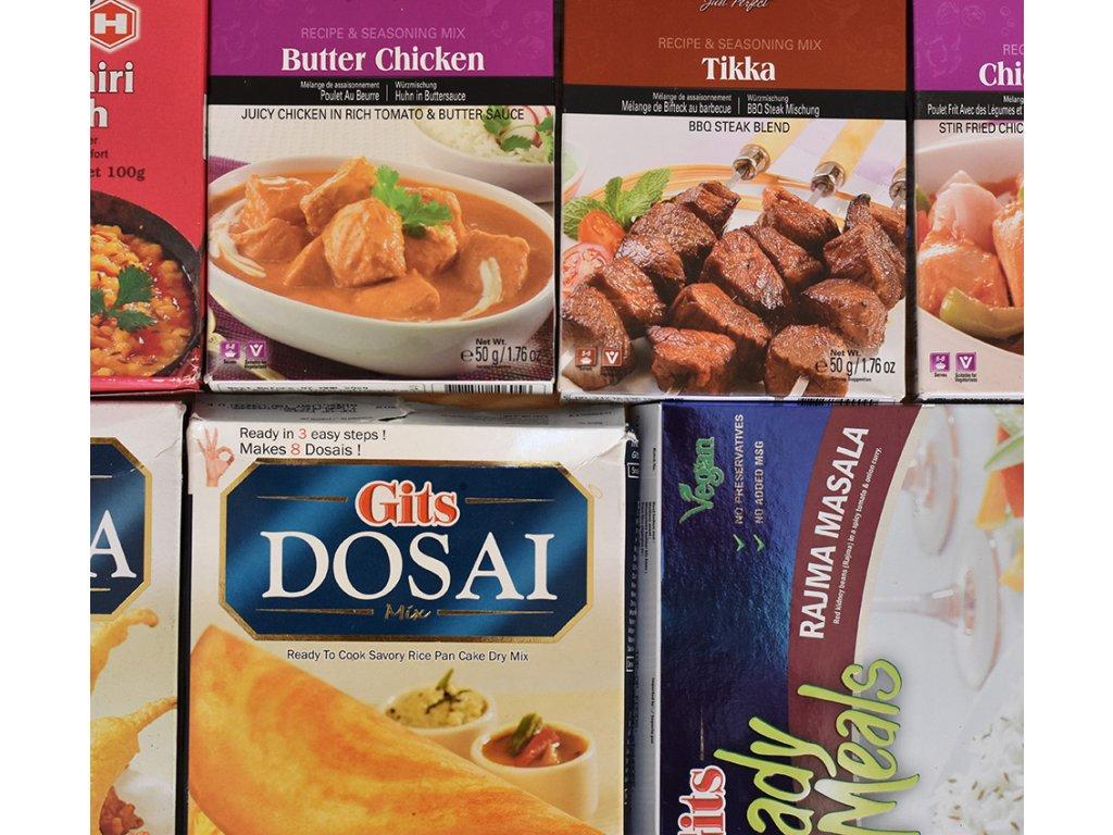 Tradiční chuť Indie