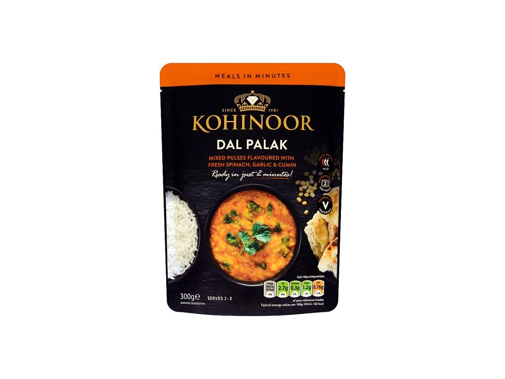 Kohinoor Dal Palak 300g