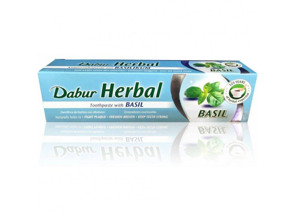 Dabur Bylinná zubní pasta-Bazalka 100g
