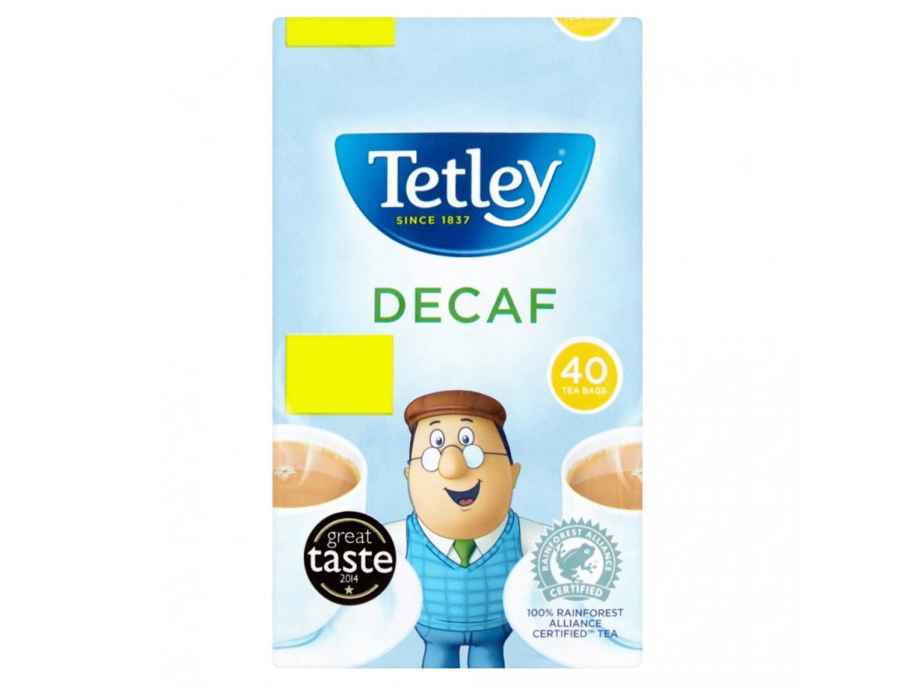 Tetley čaj bez kofeinu 40ks