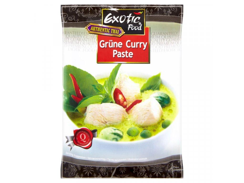 Exotic Food Thajská Zelená Kari pasta 50g