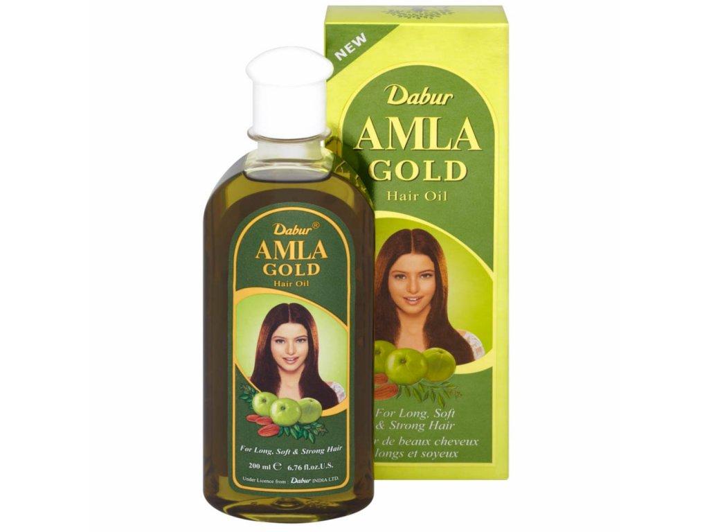 Dabur Amla Zlatý olej na vlasy 200ml