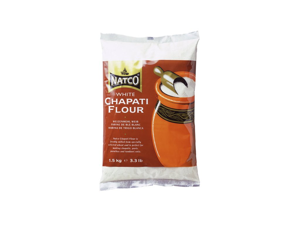 Natco Chapati Bílá Mouka 1.5Kg